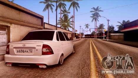 Lada Priora Autozvuk v.2 for GTA San Andreas left view