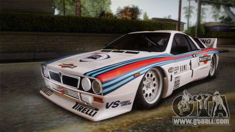 Lancia Rally 037 Stradale (SE037) 1982 HQLM PJ1 for GTA San Andreas left view