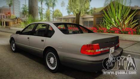 Willard Elegant SA Style for GTA San Andreas left view