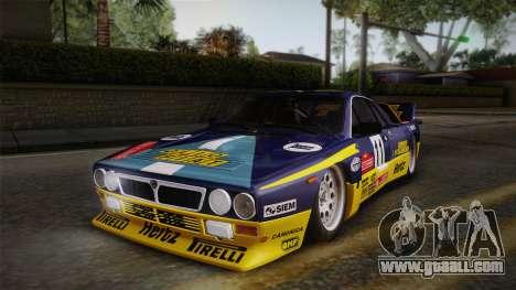 Lancia Rally 037 Stradale (SE037) 1982 HQLM PJ1 for GTA San Andreas