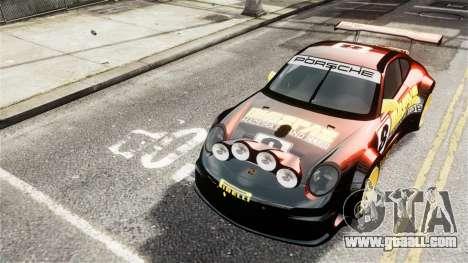 Porsche Rallye Vespas 911 GT3 RSR for GTA 4