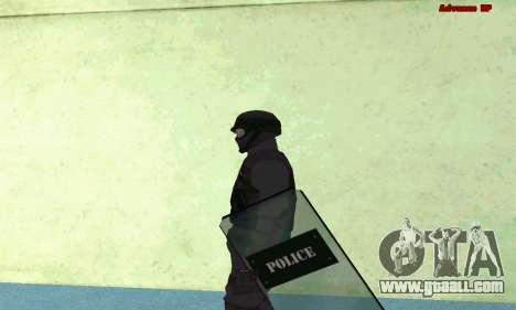Skin SWAT GTA 5 (PS3) for GTA San Andreas third screenshot