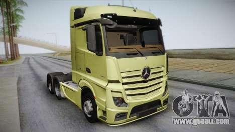 Mercedes-Benz Actros Mp4 6x4 v2.0 Steamspace for GTA San Andreas