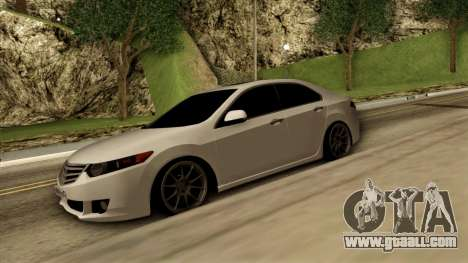 Honda Accord for GTA San Andreas left view