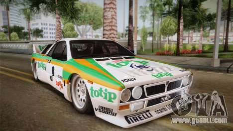 Lancia Rally 037 Stradale (SE037) 1982 Dirt PJ2 for GTA San Andreas back left view