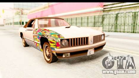 Stallion Sticker Bomb for GTA San Andreas
