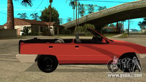 Opel Kadett AcademeG edition for GTA San Andreas back left view