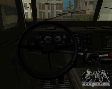 Ural 4320 Armenian for GTA San Andreas side view