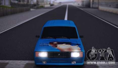 VAZ 2104 Anime for GTA San Andreas back view