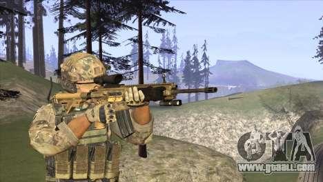 HK416A5 for GTA San Andreas second screenshot