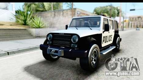 Canis Mesa Police for GTA San Andreas