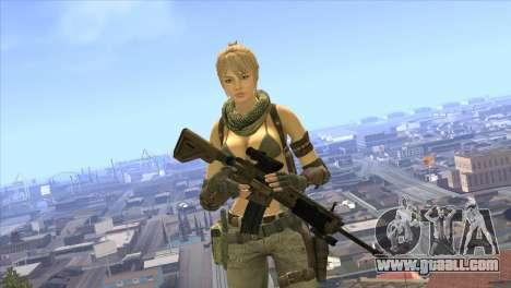 HK416A5 for GTA San Andreas third screenshot