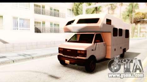 GTA 5 Camper for GTA San Andreas