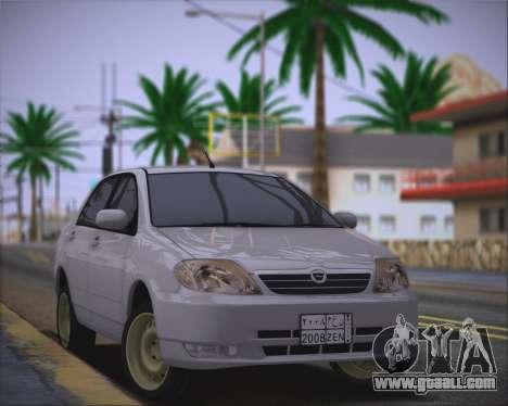 Toyota Corolla 120 for GTA San Andreas
