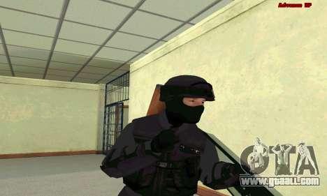 Skin SWAT GTA 5 for GTA San Andreas forth screenshot