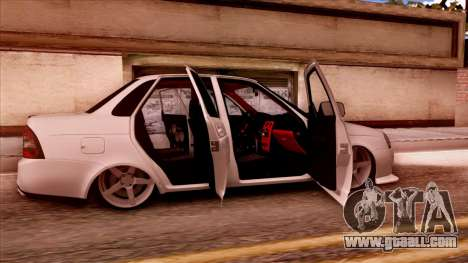 Lada Priora Autozvuk v.2 for GTA San Andreas right view