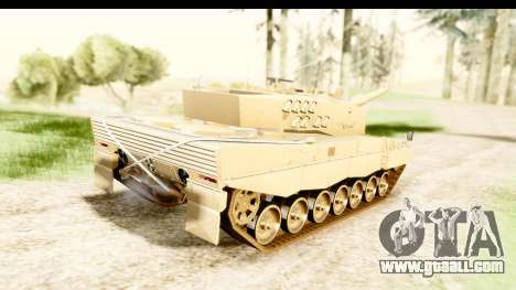 Leopard 2A4 for GTA San Andreas left view