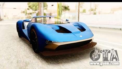 GTA 5 Vapid FMJ SA Style for GTA San Andreas