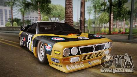 Lancia Rally 037 Stradale (SE037) 1982 Dirt PJ2 for GTA San Andreas