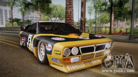 Lancia Rally 037 Stradale (SE037) 1982 Dirt PJ2 for GTA San Andreas