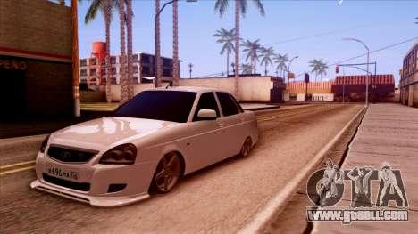 Lada Priora Autozvuk v.2 for GTA San Andreas