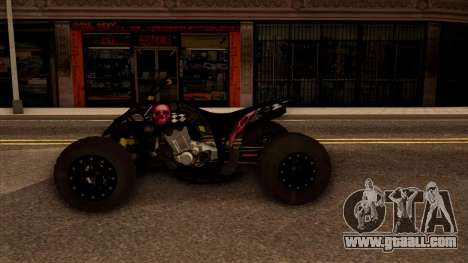 Quad Graphics Skull for GTA San Andreas right view
