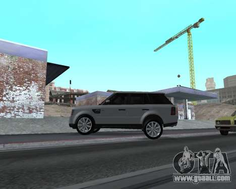 Range Rover Armenian for GTA San Andreas back left view
