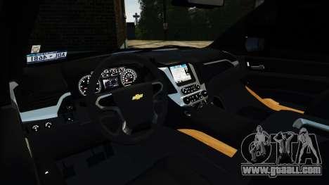 Chevrolet Tahoe 2015 V1.1 for GTA 4 right view