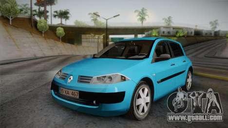 Renault Megane 2 Hatchback v2 for GTA San Andreas