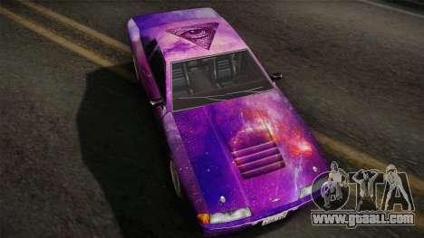20egt Elegy PaintJob 5 for GTA San Andreas back left view