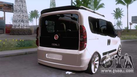Fiat Doblo for GTA San Andreas left view