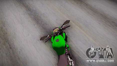 Kawasaki Z1000 2013 for GTA San Andreas right view