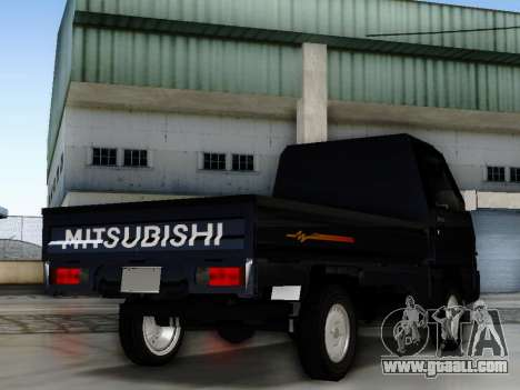 Mitsubishi Colt L300 Pickup for GTA San Andreas left view