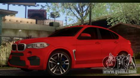 BMW X6M F86 for GTA San Andreas