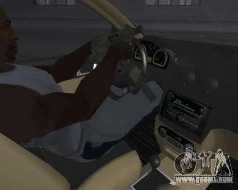 Chevrolet Aveo Armenian for GTA San Andreas upper view