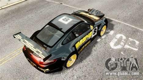Porsche Rallye Vespas 911 GT3 RSR for GTA 4 back left view