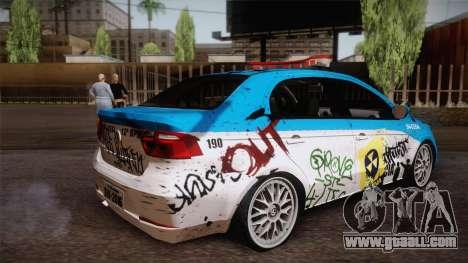 Volkswagen Voyage G6 Pmerj Graffiti for GTA San Andreas left view