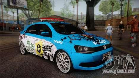 Volkswagen Voyage G6 Pmerj Graffiti for GTA San Andreas