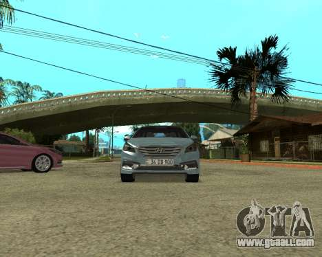 Hyundai Sonata Armenian for GTA San Andreas right view