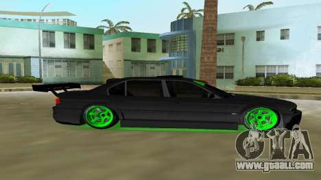 BMW 750 E38 Hamann Turbo Sports for GTA Vice City back left view
