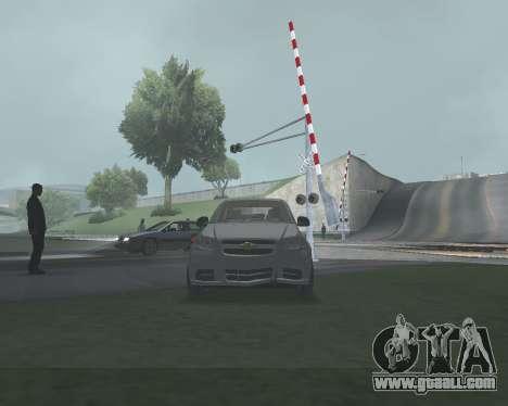 Chevrolet Aveo Armenian for GTA San Andreas interior