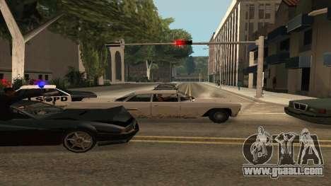 Cheetah Mod v1.1 for GTA San Andreas forth screenshot