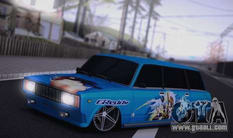 VAZ 2104 Anime for GTA San Andreas left view
