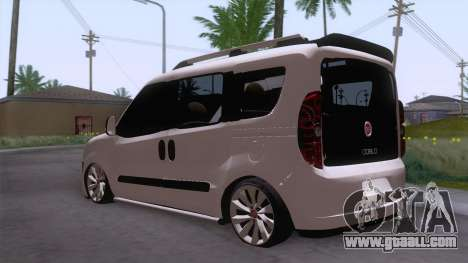 Fiat Doblo for GTA San Andreas back left view