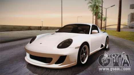 Ruf RK Coupe (987) 2007 HQLM for GTA San Andreas