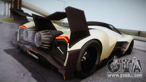 Devel Sixteen for GTA San Andreas left view