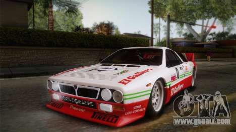 Lancia Rally 037 Stradale (SE037) 1982 HQLM PJ1 for GTA San Andreas right view