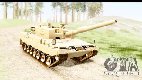 Leopard 2A4 for GTA San Andreas