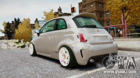 Fiat 500RB for GTA 4 left view