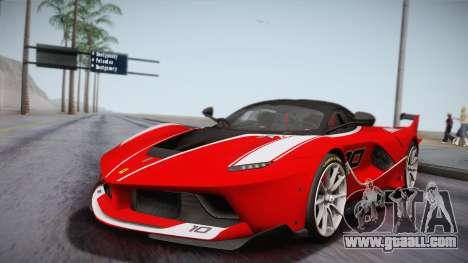 Ferrari FXX-K 2015 for GTA San Andreas